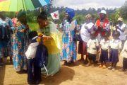 BAHAM / La Reine Mère Dr Inès Laure KAMTO prime les meilleurs élèves